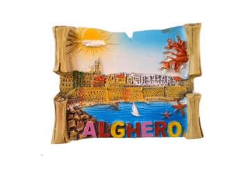 Immagine di Magnete resina pergamena Alghero