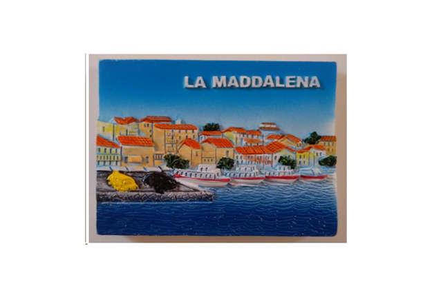 Immagine di Magnete resina La Maddalena