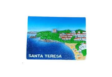 Immagine di Magnete rettangolare Santa Teresa 5x5cm