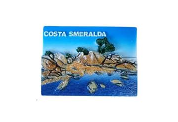 Immagine di Magnete rilievo Costa Smeralda