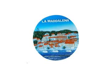 Immagine di Magnete tondo La Maddalena