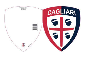 Immagine di Biglietto auguri stemma Cagliari 1920