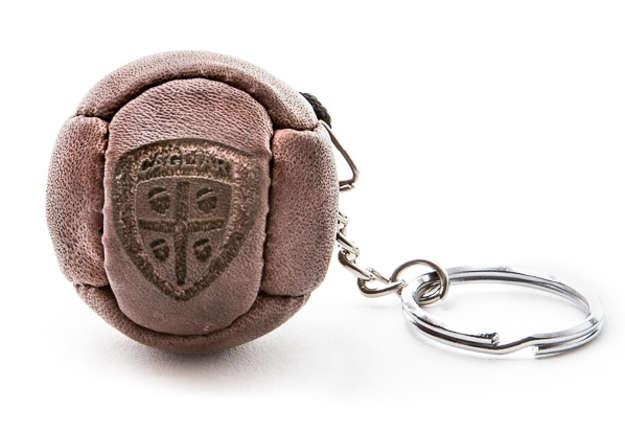 Immagine di Portachiavi pallone vintage Cagliari 1920