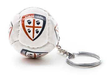 Immagine di Portachiavi pallone bianco Cagliari 1920