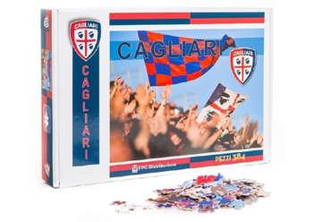 """Immagine di Puzzle """"bandiera"""" 384pz Cagliari 1920"""