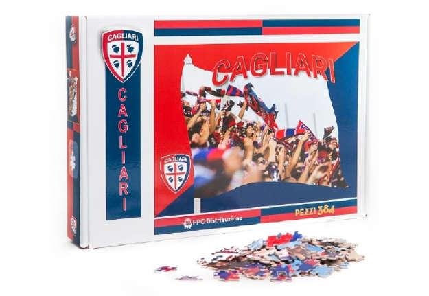 """Immagine di Puzzle """"tifosi"""" 384pz Cagliari 1920"""