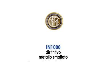 Immagine di Distintivo metallo smaltato con logo ufficiale Inter