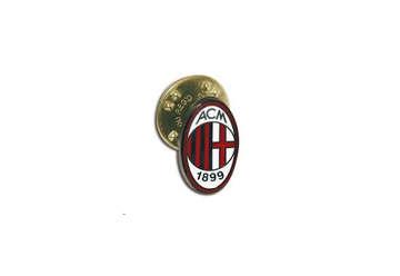Immagine di Distinitivo metallo smaltato con logo Milan