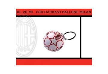 Immagine di PORTACHIAVI PALLONE MILAN
