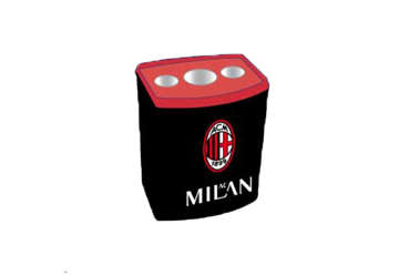 Immagine di Temperamatite box 24pz AC Milan
