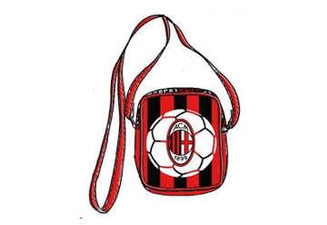 Immagine di Tracolla piccola AC Milan 18x12.5x6cm