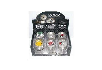 Immagine di Zorr Grinder 40mm (trita tabacco) display 12 pz assortiti