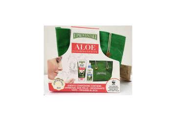 Immagine di Trousse juta aloe dermogel + deodorante vapo