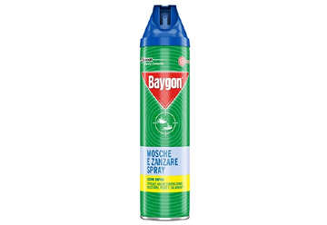 Immagine di Baygon mosche e zanzare plus 400ml