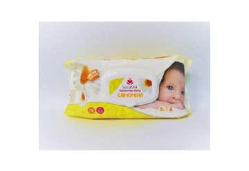 Immagine di Salviettine baby camomilla pop-up 72pz