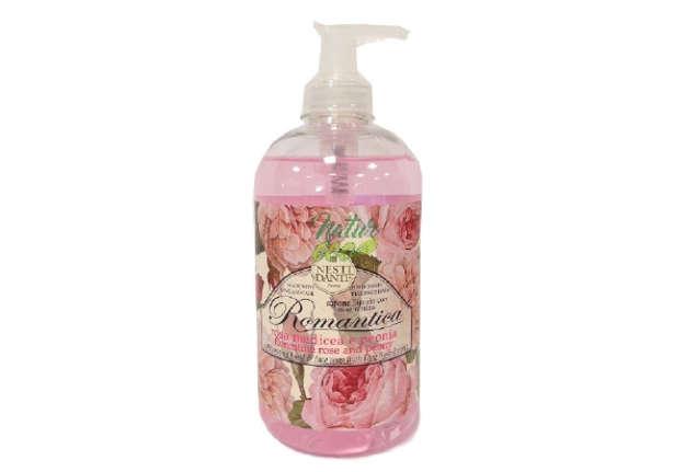 Immagine di Sapone liquido - Romantica Rosa Medicea & Peonia - Flacone dispenser 500ml