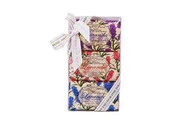 Immagine di Confezione regalo lavanda 3x150g
