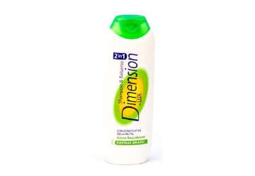Immagine di Shampoo Dimension 2in1 capelli grassi 250ml