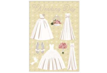 Immagine di Biglietto Wedding Day c/foil