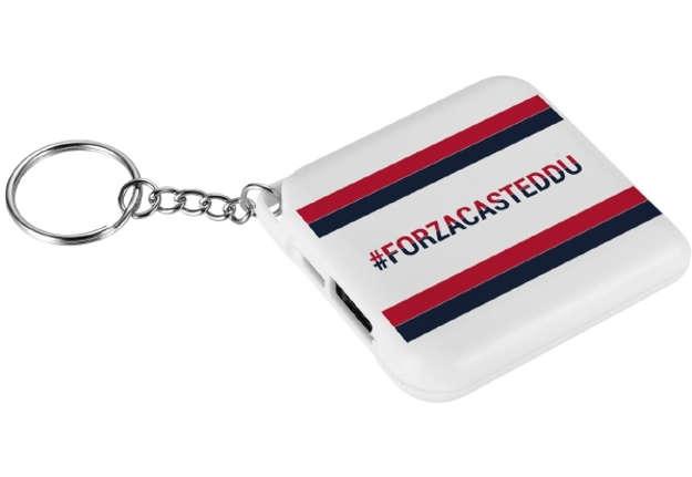 Immagine di Portachiavi powerbank 2000 mAh Cagliari Calcio