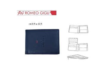 Immagine di Portafoglio uomo blu Romeo Gigli