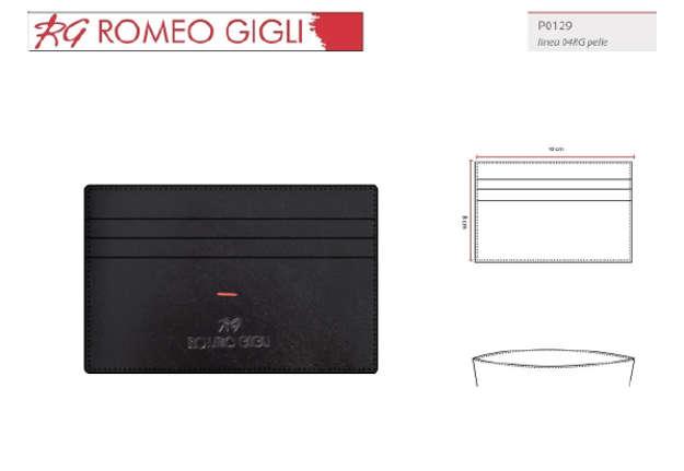 Immagine di Porta carte nero Romeo Gigli