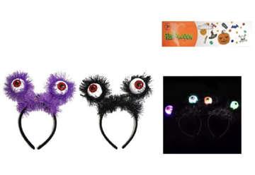 Immagine di Cerchietto con occhi per halloween