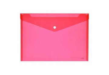 Immagine di Busta bottone A4 orizzontale rosso