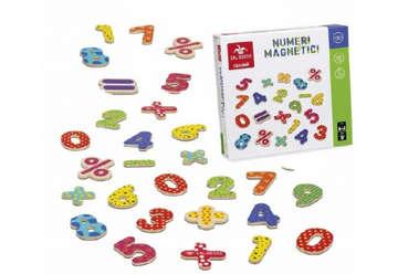 Immagine di Numeri magnetici in legno 77pz