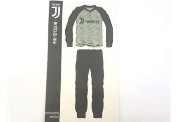 Immagine di Pigiama Juventus interlock grigio XL