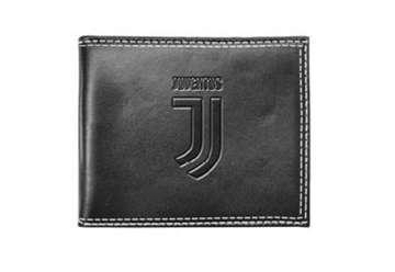 Immagine di Portafoglio in pelle Juventus cuciture bianche