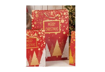 Immagine di Shopper  Merry Christmas Grande