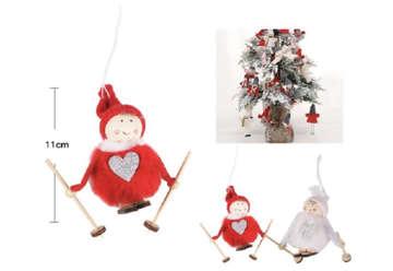 Immagine di Addobbo natalizio in tessuto