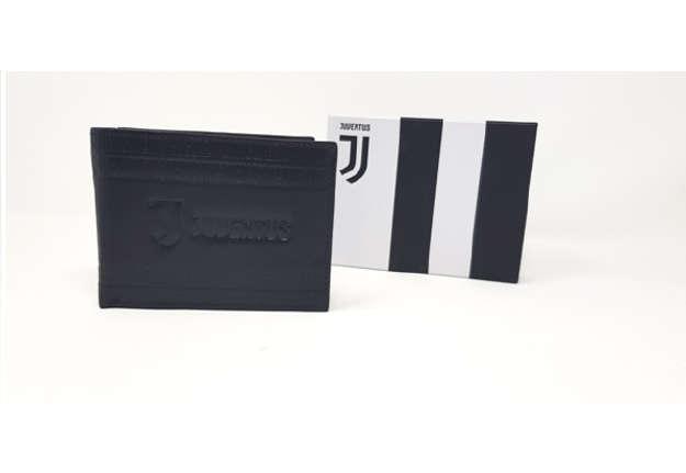 Immagine di Portafoglio Juventus bianconeri in pelle