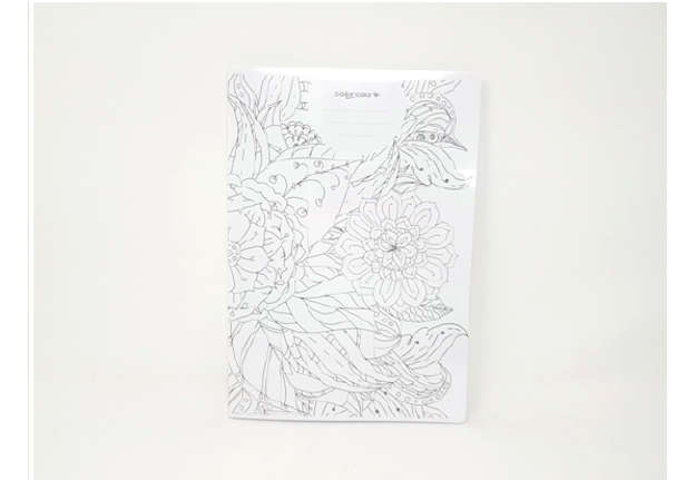Immagine di Quaderno A4 Colora e disegna quadretti 4M