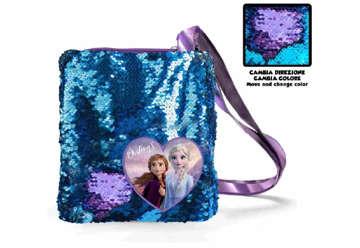 Immagine di Borsa con manici Frozen 2 con Paillettes
