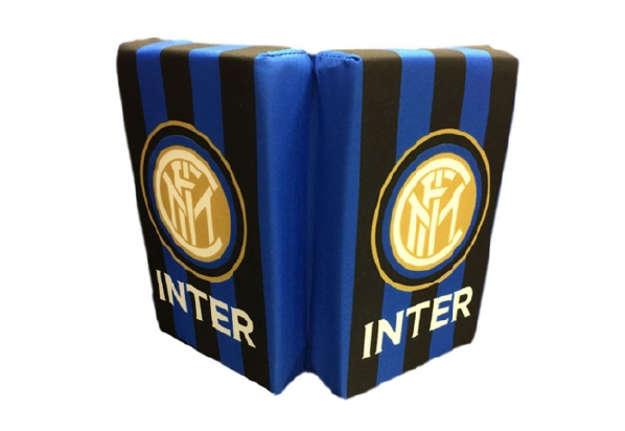 Immagine di Cuscino da Stadio Inter a righe