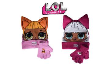 Immagine di Lol Surprise set cuffia con guanti 2 colori