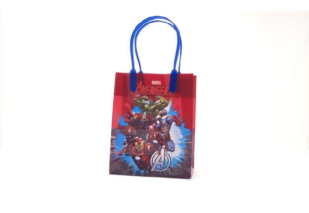 Immagine di Shopper Avengers plastica 15cm