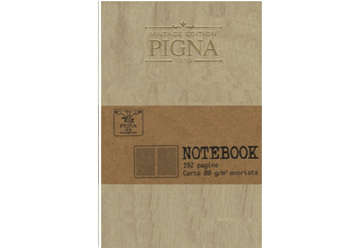 Immagine di Notebook Vintage Edition Pigna 17x24cm beige