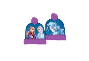 Immagine di Cuffia con risvolto e pon pon Frozen 2 Tg.56