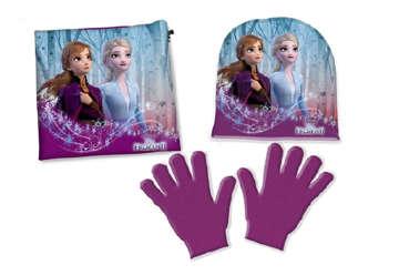 Immagine di Set Cuffia, guanti e scaldacollo Frozen 2 Tg.56