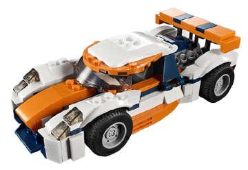 Immagine di Auto da corsa 3in1