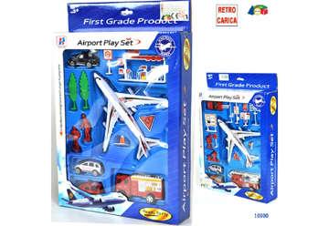 Immagine di Set aeroporto con mezzi e aereo