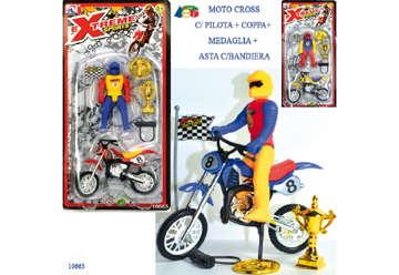 Immagine di Blister moto con pilota e trofei