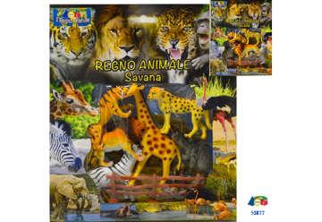 """Immagine di Busta cornice """"Zoo con staccionata"""""""