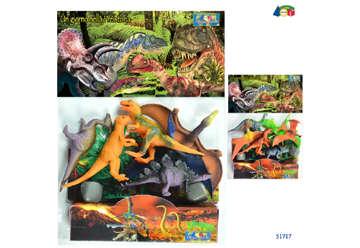 """Immagine di Busta dinosauri """"Un giorno nella preistoria"""""""