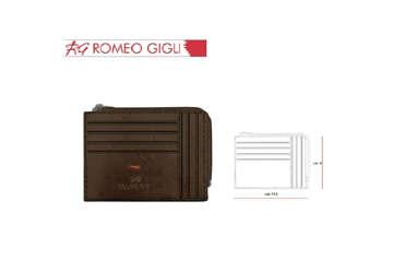 Immagine di Romeo Gigli porta carte e porta monete moro