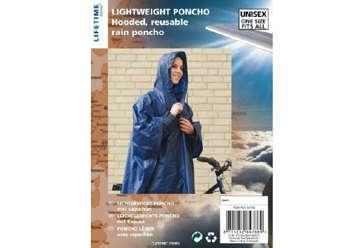 Immagine di Poncho con cappuccio 130x100cm