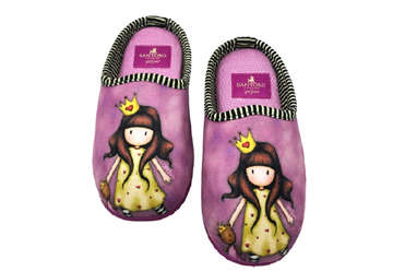 Immagine di Santoro pantofole aperte princesses tg 33/34